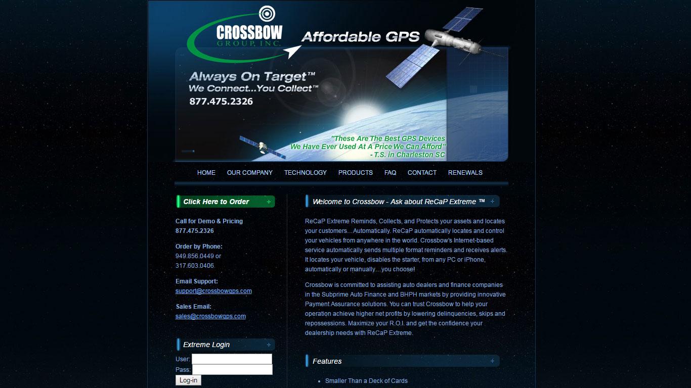 Crossbow GPS