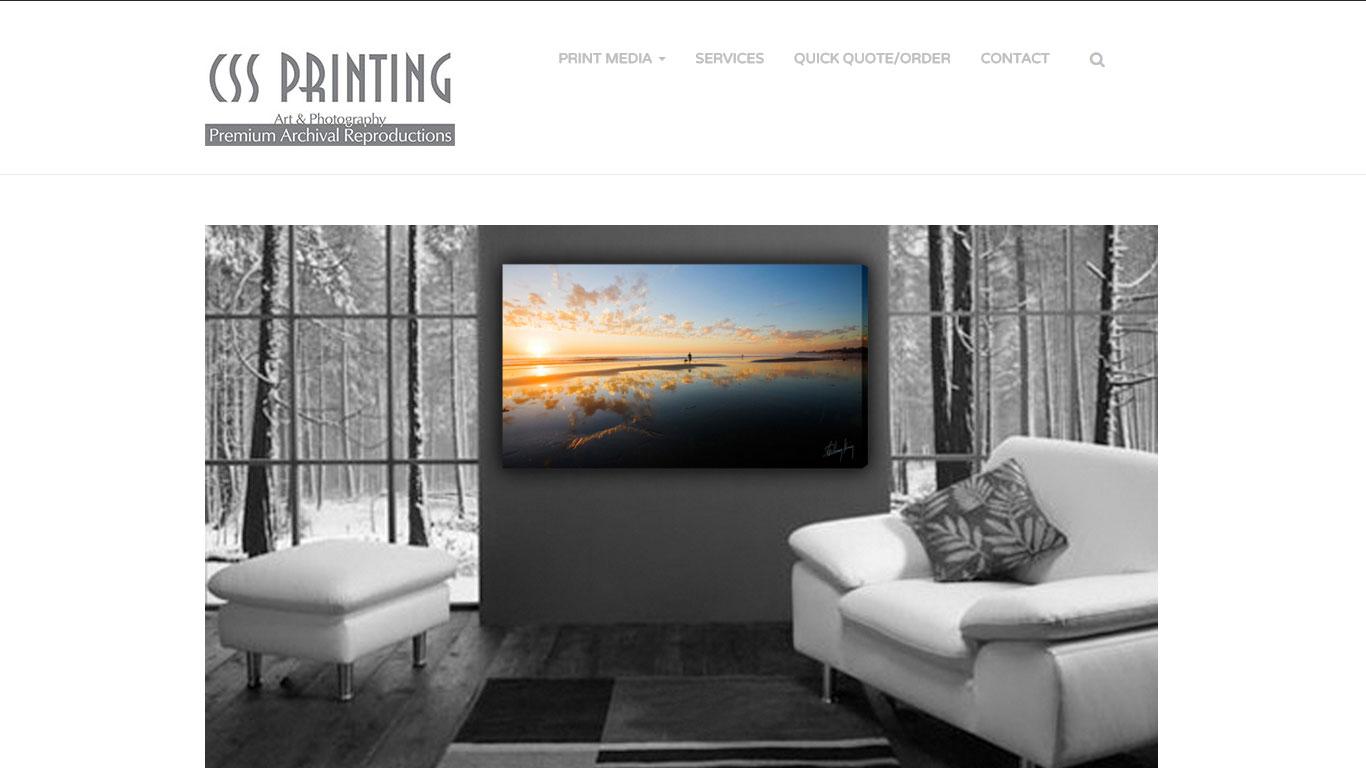 CSS Printing