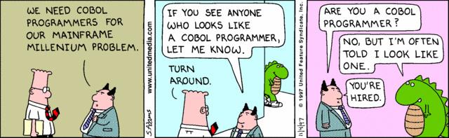 Dilbert Cobol Programmer