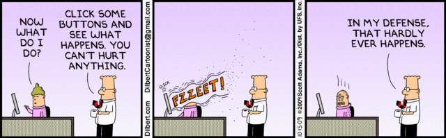 Dilbert Tech Support