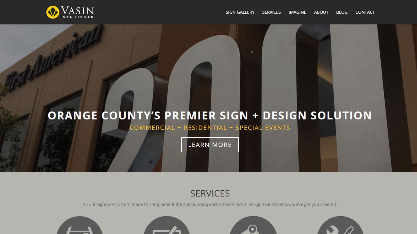 Vasin Sign + Design